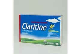Claritine 10mg, 10 comprimate, Schering Plough