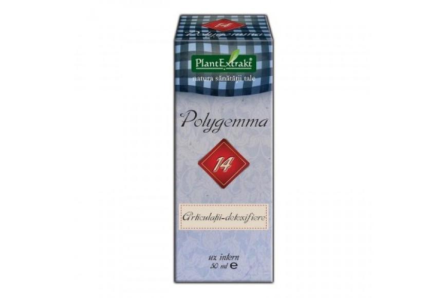 Polygemma nr. 14 ( Articulații-detoxifiere), 50 ml