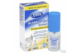 Optrex Actimist Spray oftalmic 2 in 1 pentru lacrimare si prurit 10 ml, Reckitt Benckiser