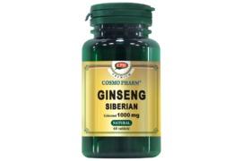 Ginseng Siberian, 30 capsule, Cosmopharm