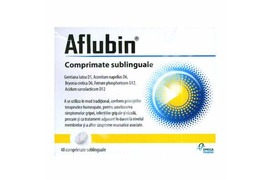 Aflubin, 48 comprimate, Omega Pharm
