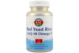 Red Yeast Rice Q10 Omega 3 ,60 capsule, KAL