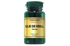 Ulei de krill, 500 mg, 30 capsule, Cosmopharm
