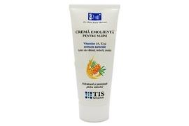 Crema emolienta pentru maini cu Vitamina A si E, 100 ml, Tis Farmaceutic