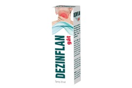 Dezinflan Gat spray, 20 ml, Sia Silvanols
