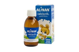 Alinan Calciu + D3, 150 ml, Fiterman Pharma