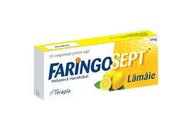 Faringosept lamaie 10 mg, 10 comprimate, Terapia