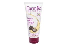 Crema de maini si unghii cu Argan 100 ml, Farmec