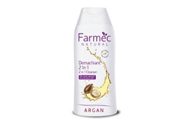 Demachiant 2in1 cu argan, 200 ml, Farmec