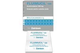 Fluimucil 100mg/plic, 30 plicuri, Angelini Zambon