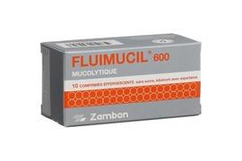 Fluimucil 600, 10 comprimate efervescente, Zambon