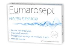 Fumarosept, 24 comprimate masticabile, Zdrovit