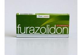 Furazolidon 100mg, 20 comprimate, Terapia