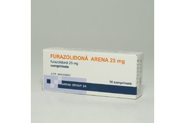 Furazolidona copii 25mg, 10 Comprimate, Arena