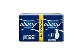 Always ultra Night, 14 tampoane, Procter & Gamble