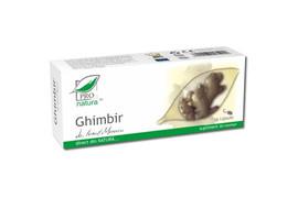Ghimbir, 30 capsule, Pro Natura