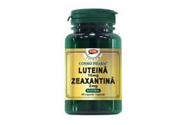 Luteina 10mg Zeaxantina 2mg, 60 capsule, Cosmopharm