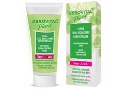 Crema sebo-reglatoare purificatoare Stop Acnee,50 ml,Gerovital Plant