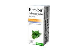 Herbion lichen de piatra 6mg, 150 ml, Krka