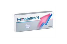 Hexoraletten N, 20 pastile, Johnson&Johnson