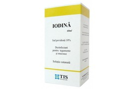 Iodina 10% Solutie, 60ml, Tis Farmaceutic