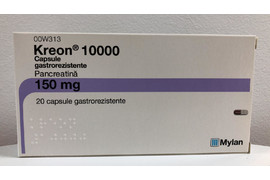 Kreon 10000 150mg, 20 capsule, Mylan Healthcare