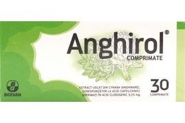 Anghirol, 30 comprimate, Biofarm