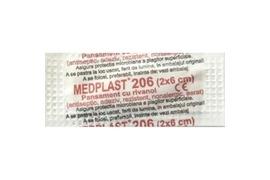 Plasture Medplast 206 cu rivanol, 2x6 cm, Mebra