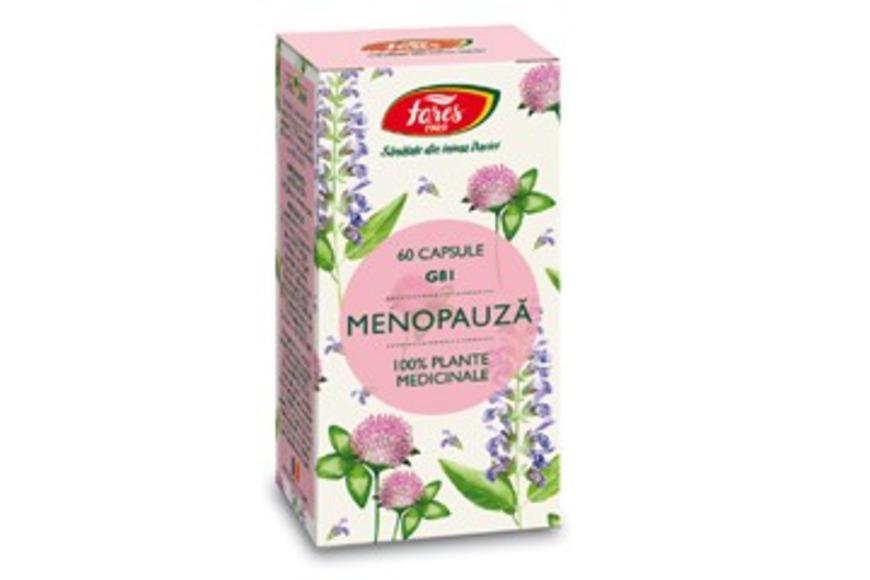 Suport Premenstrual - Fares, 60 capsule (Tulburari premenstruale si menopauza) - menopauza.bucovinart.ro