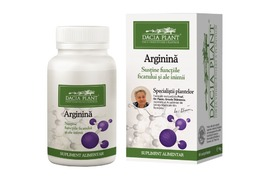 Arginina, 60 comprimate, Dacia Plant