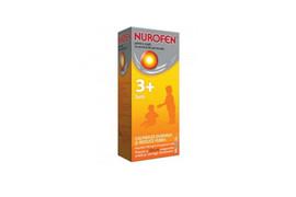 Nurofen 100mg pentru copii 3 luni aroma de portocale, 100 ml, Reckitt Benckiser
