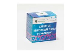Săruri de rehidratare cu probiotic, 10 plicuri, Remedia