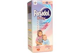 Panadol Baby 120mg/5ml suspensie orala, 100 ml, Gsk