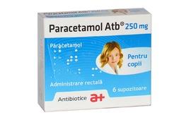 Paracetamol 250mg, 6 supozitoare, Antibiotice Iasi