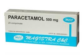 Paracetamol 500mg, 20 comprimate, Magistra