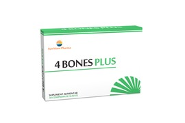 4 Bones Plus, 30 comprimate, Sunwave