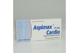 Aspimax Cardio 75 mg, 40 comprimate, Laropharm