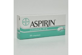 Aspirin 500 mg, 20 drajeuri, Bayer