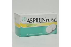 Aspirin Plus C  20cp Eff