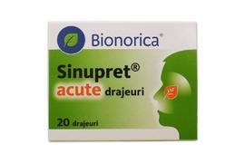 Sinupret Acute 20 drajeuri, Bionorica