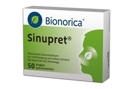 Sinupret 50 drajeuri, Bionorica