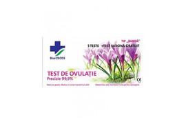 Test Ovulatie 5 bennzi +1 Test De Sarcina, Blue Cross
