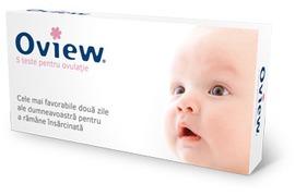 Test de ovulatie, 5 buc, Oview