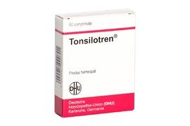 Tonsilotren, 60 comprimate, Dhu Germania
