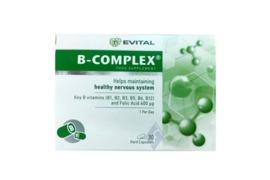 B- Complex, 30 capsule, Evital