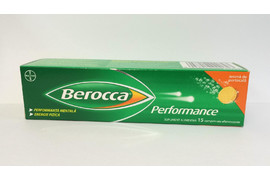 Berocca Performance, 15 comprimate efervescente, Bayer Schering