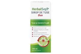 HerbalSept DUO sirop, 100 ml, Zdrovit