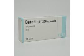 Betadine 200mg, 14 ovule,  Egis Pharmaceutical