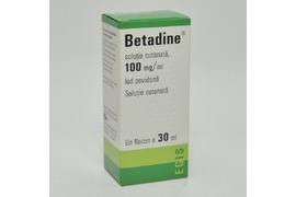 Betadine Solutie Cutanata 100mg/ml, 30ml ,  Egis Pharmaceutical
