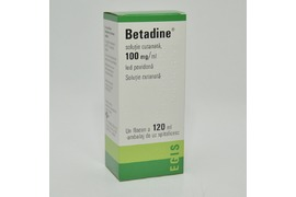 Betadine solutie, 120 ml, Egis Pharmaceutical